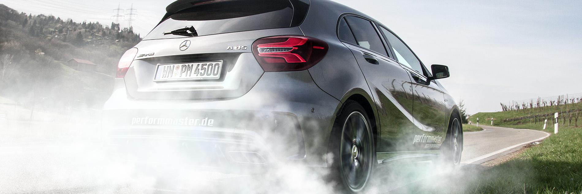 Leistungssteigerung Chip-Tuning Mercedes-45-AMG