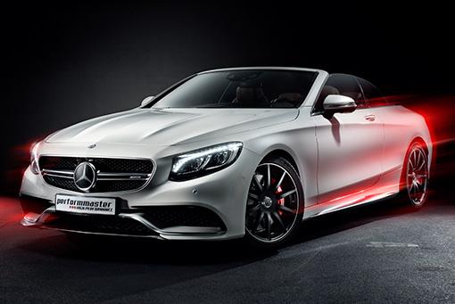 Tuning für Mercedes S 63 AMG performmaster